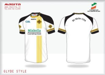 Image: St. Nick's GAA Bristol, training kit.